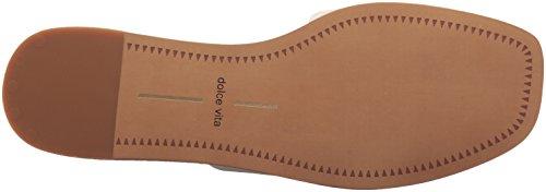 Dolce Vita Womens Cato Slide Sandal Off White Leather 7SODIzw8y