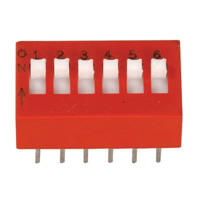 6 position dip switch - 2