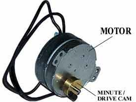 ACROPRINT MOTOR & MINUTE DRIVE CAM