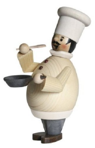Happy Chef Cook GermanクリスマスIncense Smoker Cooking Burnerドイツ製 B018J424VG