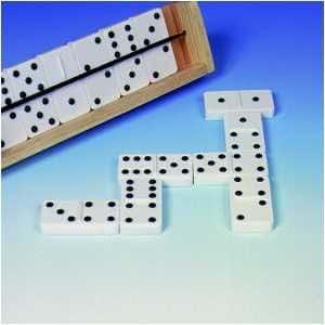 Jumbo Braille Dominoes (Raised Dots)