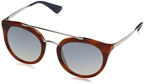 Prada Damen Sonnenbrille 0PR23SS 1AB1C0, Schwarz (Black/Light Brown Gold), 52