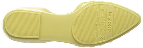 Zaxy Women's Hype Ballet Flats Yellow (Lemon) 4LyvieBD