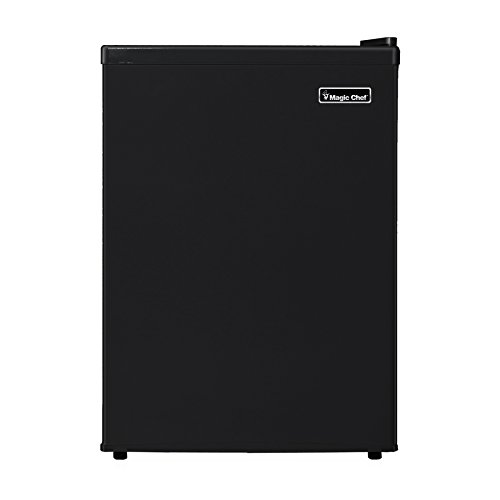 Magic Chef MCBR240B1 Refrigerator, 2.4 cu. ft, Black