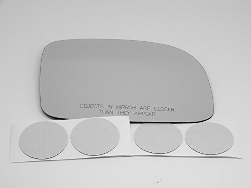 Fits 07-12 Santa Fe Heated Passenger Side Mirror Glass Lens with Adhesive, - Glasses Ebay Mirror