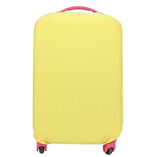 fanyuan-spandex-travel-luggage-cover-fits-m-22-24-inch-luggage-yellow