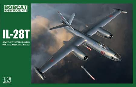 Bobcat Hobby Model Kits 1/48 IL-28T Soviet Jet Bomber 48006