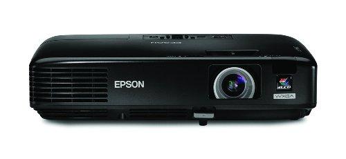 - Epson PowerLite 1730W WXGA Video Projector, Black (V11H271020)
