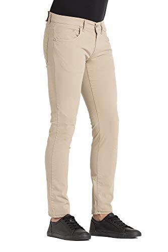 262 Tinta Beige Unita Jeans Scuro Uomo Per Pantalone Carrera wA6Cqn