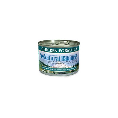 Natural Balance Canned Dog Food, Vegetarian Recipe, 12 X 6 Ounce Pack