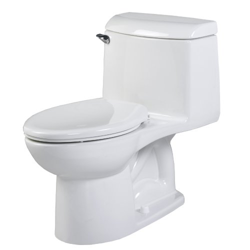 - American Standard 2034.014.020 Champion-4 Right Height One-Piece Elongated Toilet, White