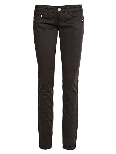 Mogul 00016983- 5448 Darlin Soft Cotton Stretch - Pantalón para mujer negro