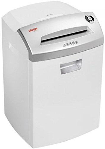 Intimus 32 CC3 Professional Cross-Cut Data Shredder, Shred Size 5/8'' x 1 1/8'', Accepts Paper Including Paper Clips and Staples, Credit Cards, CDs and DVDs, Auto Reverse Function in Case of Jam by Intimus