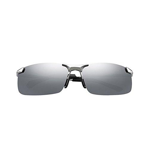 Hombres Gafas Conducción Conducción Color polarizador Gafas Espejo Pesca Espejo 2 DT 6 Conductor Gafas Sol de qt180B