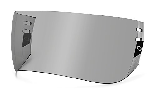 Oakley Modified Aviator Pro Cut Hockey Visor, Grey, One -
