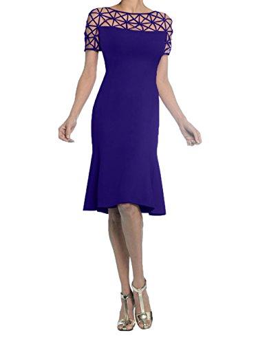 Damen Abendkleider Blau Partykleider Gruen Royal Knielang Festlichkleider Jaeger Promkleider Kurz Charmant Etuikleider ATOqxddf