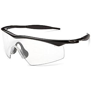 Oakley Men's Industrial M Frame,Matte Black Frame/Clear Lens,one size