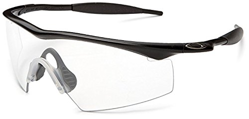 Oakley Mens Industrial M Frame Sport Designer Sunglasses - Black/Clear/One Size Fits All