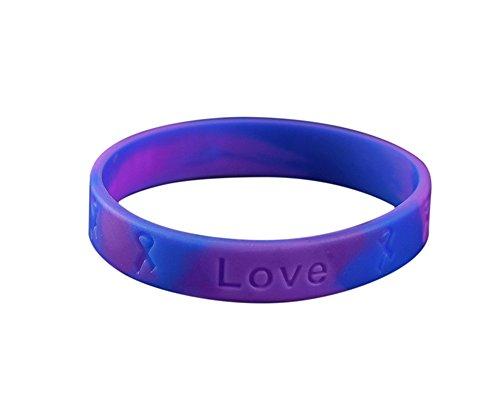 Rheumatoid Arthritis Awareness Silicone Bracelet (Retail)
