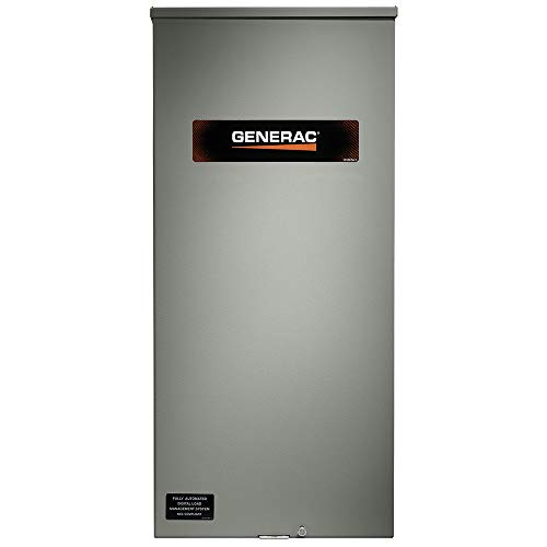 Generac RXSW200A3F 200 Amp Service Rated Automatic Transfer Switch with 8 Circuit Load ()