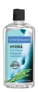 Hydra Intime 120ml Organics à base d'eau Lubrifiant