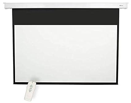 Amazon Matte White 92 Diagonal Electric Projection Screen