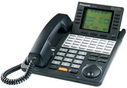 Kx Td Systems Telephone (Panasonic KX-T7456B Digital Super Hybrid System Backlit LCD Display Phone(Black))