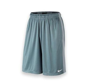 Nike New Men's Fly Shadow Stripe Shorts Wolf Grey/Wolf Grey X-Large ()
