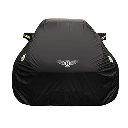 Car Cover Bentley Continental GT Special Car Cover Car Clothing Thick Oxford Cloth Sun Protection Rain Cover Car Cloth Car Cover (Size : Oxford Cloth - Built-in lint)