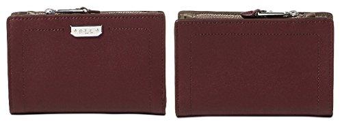 LAUREN Ralph Lauren Women's Dryden New Compact Wallet Port/Falcon One Size