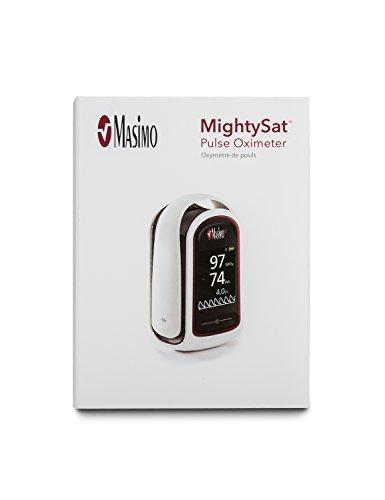 Masimo Mightysat Fingertip Pulse Oximeter  Bluetooth