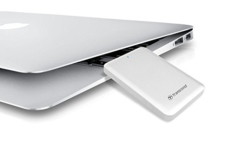 Transcend 256GB Thunderbolt Solid State Drive StoreJet 500 for MAC (TS256GSJM500) 7 HFS+ pre-formatted for MAC USB 3.0 interface + Thunderbolt Interface SSD