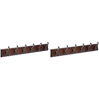 Amazon.com: Liberty 165541 - Perchero con 6 ganchos (hierro ...