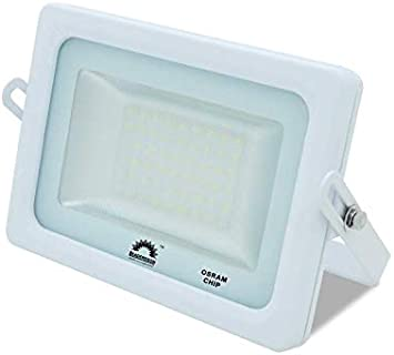Foco LED Exterior T-SPACE Blanco · Proyector LED Extraplano 15W ...
