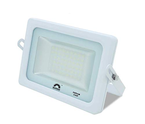 Foco LED Exterior T-SPACE Blanco · Proyector LED Extraplano 25W ...