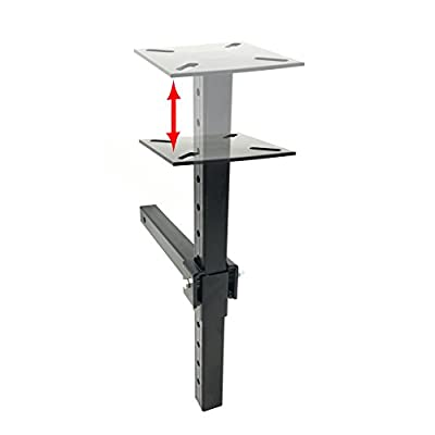 MAXXHAUL 80356 Hitch Mount Vise Plate/Holder (with Adjustable Height): Automotive