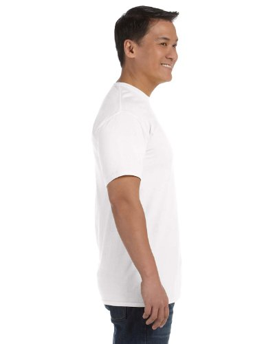 Comfort Colours Adults Unisex Short Sleeve T-Shirt (L) (White) from Comfort Colours