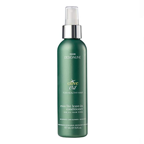Olive Oil EVOO Lite Leave-in - Regis DESIGNLINE - Leave-In Conditioner Treatment Restores Dry and Damaged Hair without Build-Up and Protects Against Damage, Dryness, and Color Fading (6 - Hair Olive
