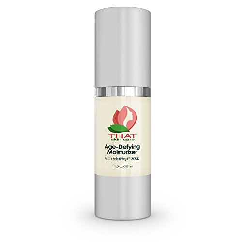 THAT Face Cream™ Age-Defying Moisturizer with Matrixyl 3000 for Fine Lines, Wrinkles, Natural Collagen Boosting, Anti Aging and Firming