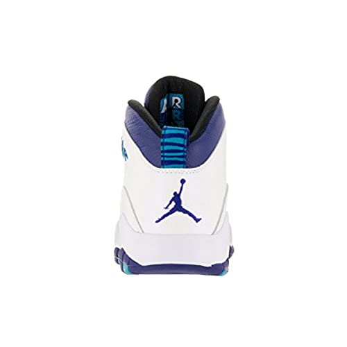 f0b8efd795463b durable service Nike Jordan Men s Air Jordan Retro 10 White Concord Blue  Lagoon Blk Basketball