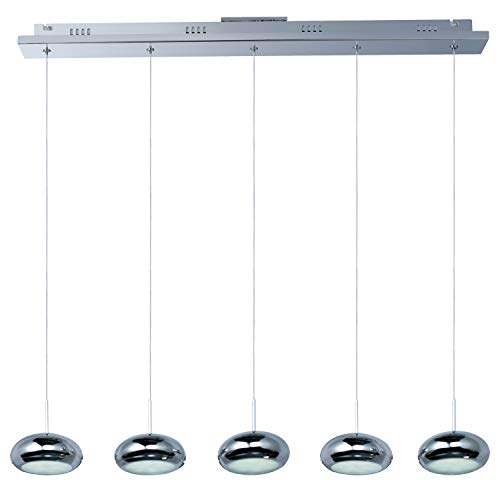 Dial 5-Light Led Linear Pendant
