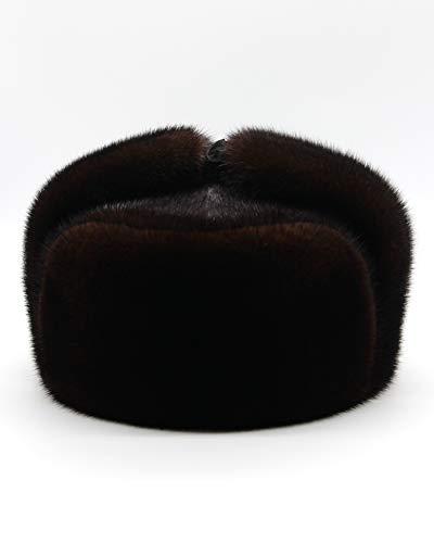 - Brown Mink Hat - Ushanka, Mink Hat, Mink Fur Hat, Ushanka Hat, Men Winter Hat, Fur Hat, Men Fur Hat, Men Mink Fur Hat, Men Winter Mink Hat