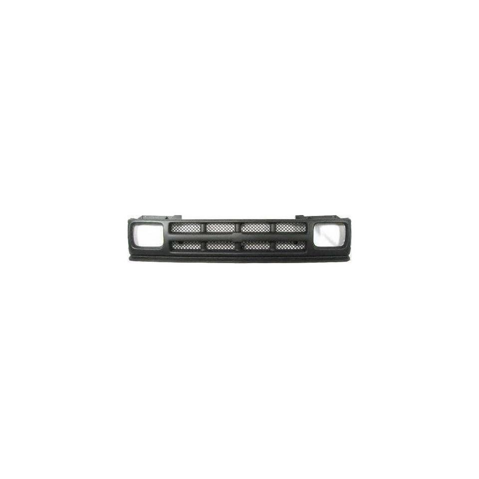 91 93 CHEVY CHEVROLET S10 PICKUP s 10 GRILLE TRUCK, Flat Finish, Black, Sport, LT, (1991 91 1992 92 1993 93) 6919 12384611