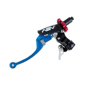 ASV Inventions CDC606PH-B C6 Blue Universal Pro Perch Clutch Lever with Hot Start