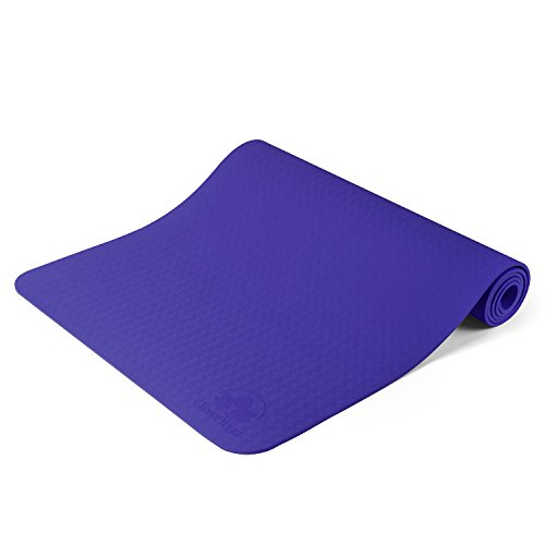 Clever Yoga Mat BetterGrip Eco-Friendly with The Best Recyclable Non-Slip and Durable TPE(6mm) - Comes with Our Special