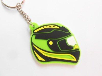 Keychains llavero - Casco - Verde - Kawasaki color ...