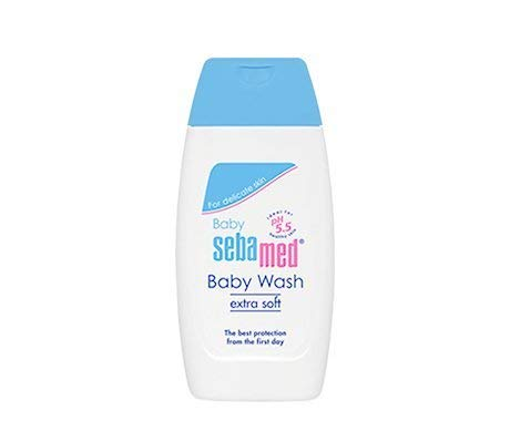 Sebamed Extra Soft Baby Wash (50ml) product image