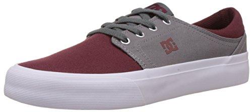 oxblood Shoes Tx lt Grey Baskets Mode Homme Trase Dc Multicolore RvfwxOp