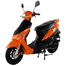 Taotao ATM50A1 50cc Scooter Orange