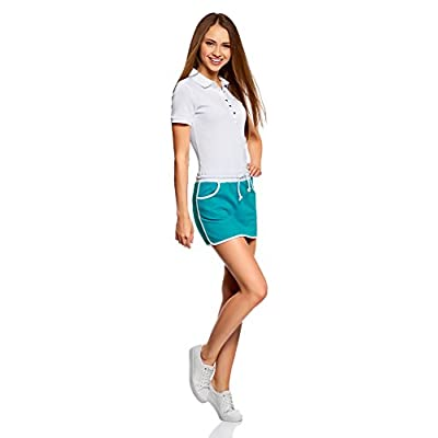 oodji Ultra Women's Jersey Skirt with Elastic Waistband: Clothing